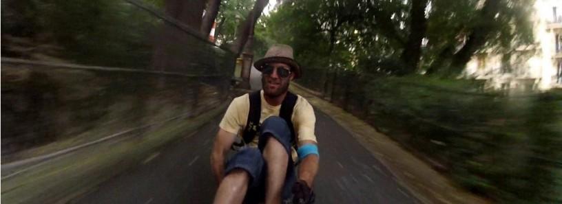 Buttboarding @ Sacré-Coeur