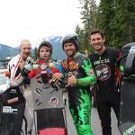 Me, Mikel Echegaray-Diez, David Dean, Andy Lally