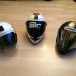 Luge helmets